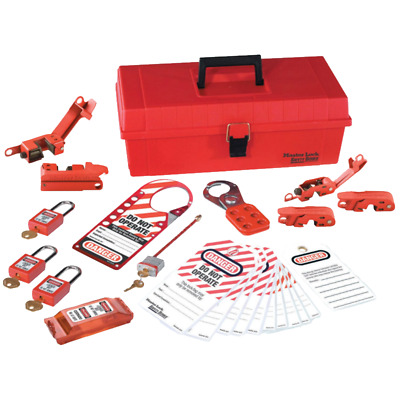Ideal 44-979 Job Site Lockout/Tagout Kit