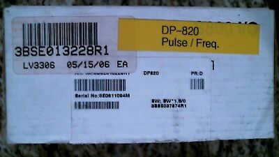 Abb Dp820 Pulse Counter S800 I/o 3Bse013228R1 -Free Shipping