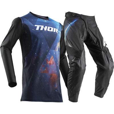 NEW Thor MX 2018 Spring Prime Fit Nebula Space Galaxy Adult Motocross Gear Set