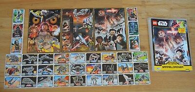 Lego Star Wars Cartas Coleccionables Serie 1 Carpeta + Todas 192 Cromos Base