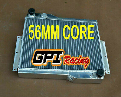 56Mm Aluminum Alloy Radiator Mg Mgb Gt V8 1973-1976 1974 1975 1976