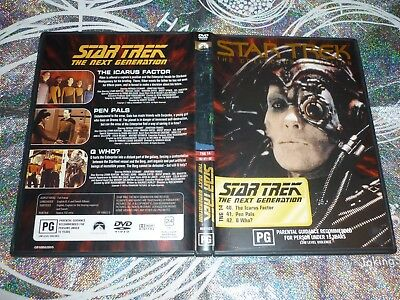Star Trek The Next Generation (Collectors Edition) Tng 14 (Dvd, Pg) (132818 A)