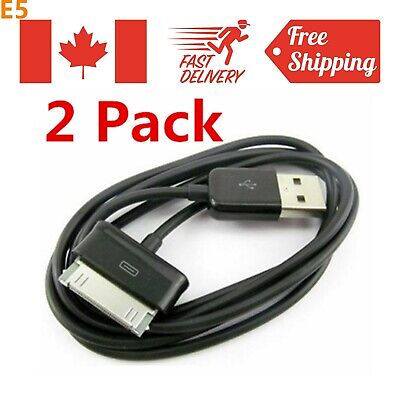 2Pack 30 Pin USB Data Tablet Charger Charging Cable For Samsung Tab 2 7 8.9 10.1