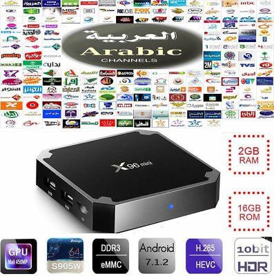 2019 Best Arabic IPTV Service Powerful 16gb 4k HDR Box 3000+ HD CHANNELS + VOD