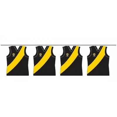 Richmond Tigers 5 Metres Official AFL Team Party Bunting BNWT