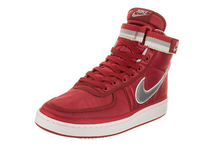 1491a413870e ... Nike Mens Vandal High Supreme Qs University RedMetallic Silver  Basketball Shoe outlet on sale 99d39 2da06 ...