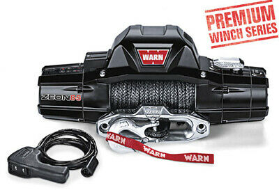 Warn Zeon 8s 8,000lb (3629kg) Synthetic Rope 4x4 Winch 12v