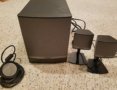 Bose Companion 3 Series II Computer Speakers Excellent condition original box