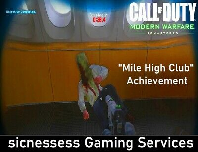 "Call of Duty: Modern Warfare Remastered ""Mile High Club"" Xbox One Achievement"