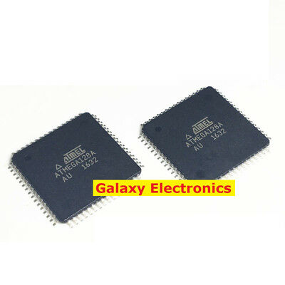 2/5/10pcs ATMEGA128A-AU 8-Bit microcontrollers 128K Flash Memory