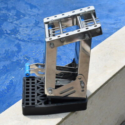 Stainless Steel Outboard Auxiliary Motor Bracket Up To 20 hp Components Brackets