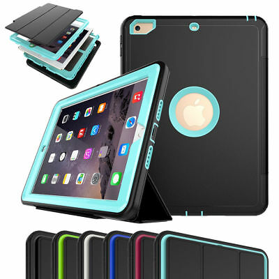 Shockproof Smart Cover Case Screen Protector lot For iPad 2 3 4 5 6 Mini Air 2