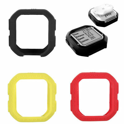 Bike Cycling Silicone Rubber Case Cover Skin For Garmin GPS Edge 20/25 +Sticker