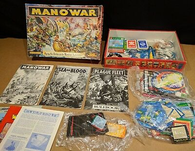 Man O'war plus 2 Expansions (Sea Of Blood / Plague Fleet)