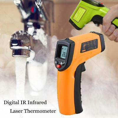 Non-Contact Digital IR Infrared Laser Thermometer LCD Temperature Handheld Gun