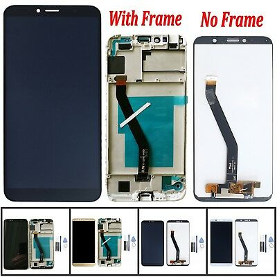 LCD Display Glass Touch Screen Digitizer + Frame For Huawei Y6 2018 & Honor 7A