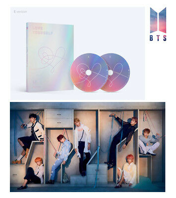 BTS LOVE YOURSELF Answer Album BANGTAN BOY [E Ver] 2CD+Poster+Booklet+Extra Gift