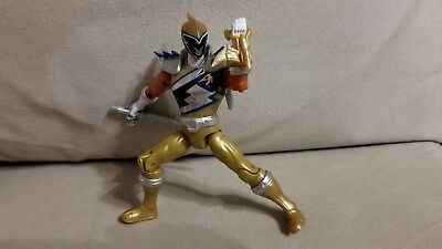 Bandai Power Rangers Dino Super Charge Silver Ranger Figure