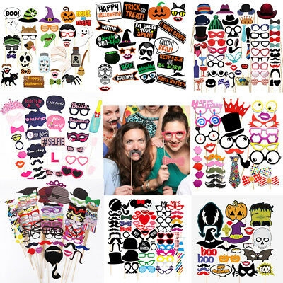 Photo Booth Props Frame Mask Wedding Hen party Birthday Baby Shower Christmas