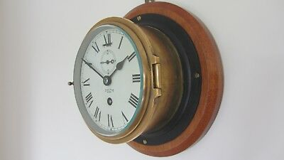 "Smiths Coventry Astral 6"" Dial Ships Clock."