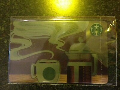 NEW! RUSSIA, STARBUCKS RUSSIAN CARD Autumn 2018, French,SEALED