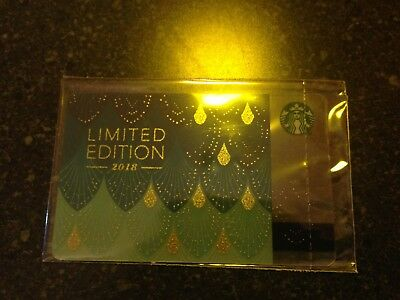 NEW! RUSSIA, STARBUCKS RUSSIAN CARD Autumn 2018, Limited Edition,SEALED