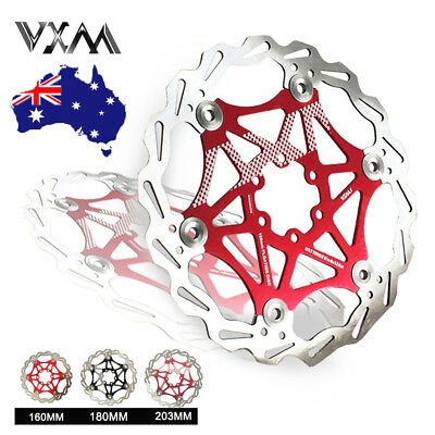 VXM Bicycle Floating Disc Brake Rotor 160/180/203mm MTB Bike Disc Brake Rotor AU