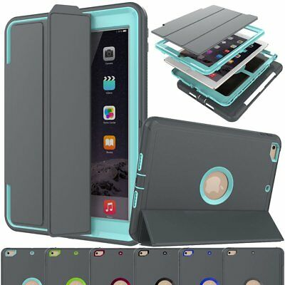 Shockproof Full Protective Cover Hard Case For iPad 9.7 5th 6th Gen Mini 2 3 4