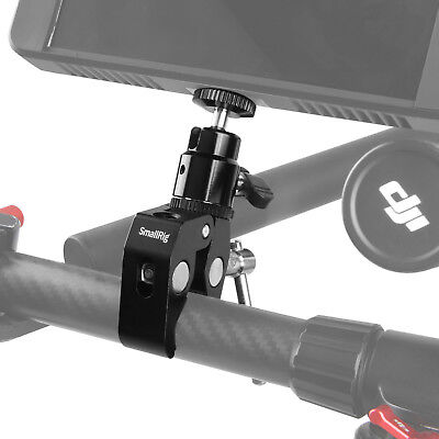 "SmallRig Multi-function Double BallHead with bottom Clamp & 1/4"" Screw - 1138"