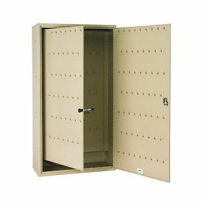 Steelmaster Fob-Friendly Key Cabinet, 31.125 x 16.5 x 8 Inches, 130-Key Capac...