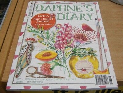 Daphne's Diary magazine #6 2018 DIY Interior Recipes Vintage Trips Mindfulness