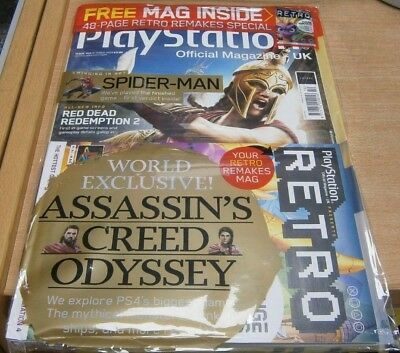 Playstation Official magazine UK #153 Oct 2018 Assassin's Creed Odyssey & more