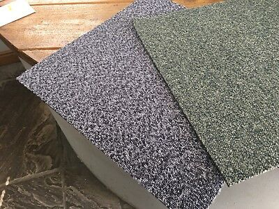 CONTRACT GRADE USED CARPET TILES (50cm x 50cm) / 4Tiles For £1.20
