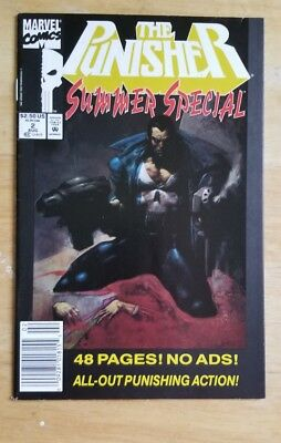 The Punisher Summer Special #2 (Aug 1992, Marvel) Vol #1 (comb ship)