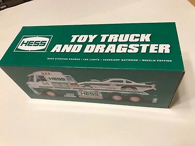 Hess Toy Truck And Dragster 2016 NIB Mint Unopened Collectible