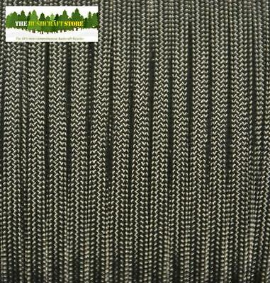 MIL-C-5040 US MILITARY ISSUE 550 PARACORD - Military Green - NOT A CHINESE FAKE!