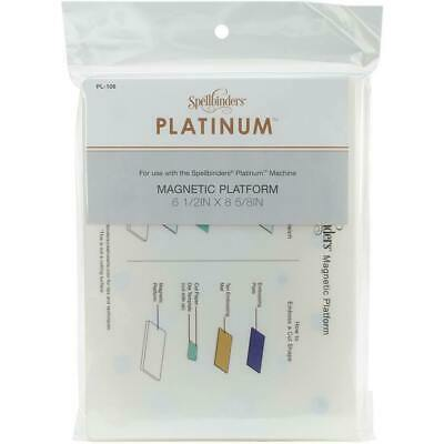 Spellbinders Magnetic Platform  for Platinum Machine. 6 1/2IN x 8 5/8IN PL106
