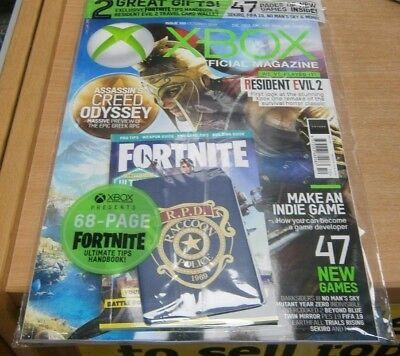 Official XBOX magazine UK Oct 2018 Assassin's Creed Odyssey + Fortnite tips book