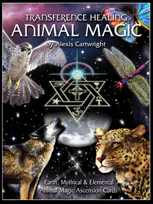 Transference Healing ANIMAL MAGIC Card Deck by Alexis Cartwright ~Oracle~Healing