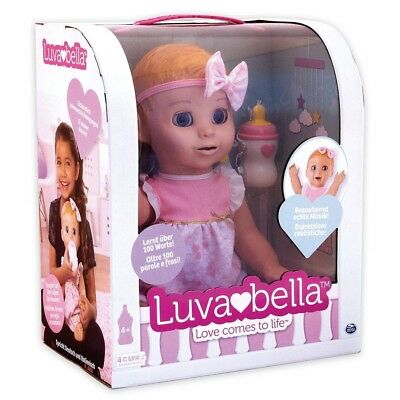 Spin Master 6039298  - Puppe - Luvabella Interaktive Puppe
