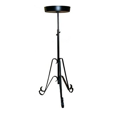 Wedding Flower Telescopic Pedestal Stand In Black Bridal Church Floristry St9710