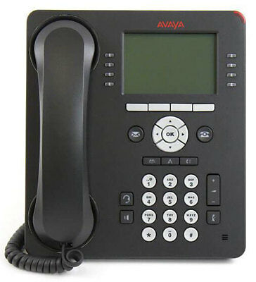 NEW 4 Pack Avaya 9608G High-Performing VoIP Business Phone with Sets/Handset
