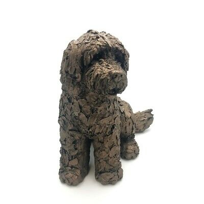 Lucy Cockapoo Dog Frith Sculptures By Adrian Tinsley Cold Cast Bronze AT036