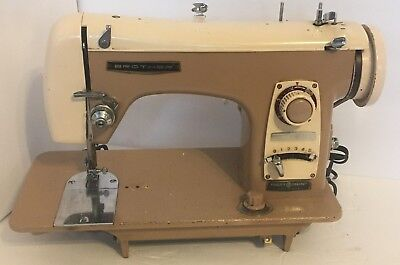 vintage brother model 190 flairmatic Sewing Machine late 50s very rare and nice