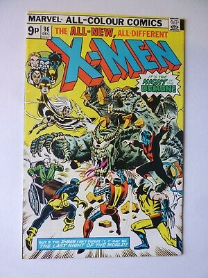 X-Men 96 1975 Marvel Comics First Moira McTaggart