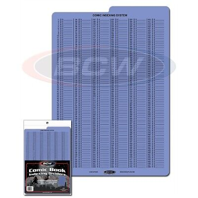 BCW Comic Book Indexing Dividers