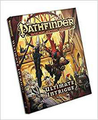Pathfinder Roleplaying Game: Ultimate Intrigue, Bulmahn, Jason, Excellent Book