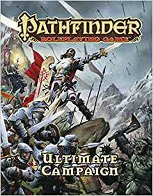 Pathfinder Roleplaying Game: Ultimate Campaign, Bulmahn, Jason, Excellent Book