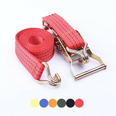 New Ratchet Tie-down Straps With J-hooks Security Furniture Transport Carrying