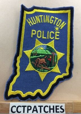 Huntington, Indiana Police Shoulder Patch In